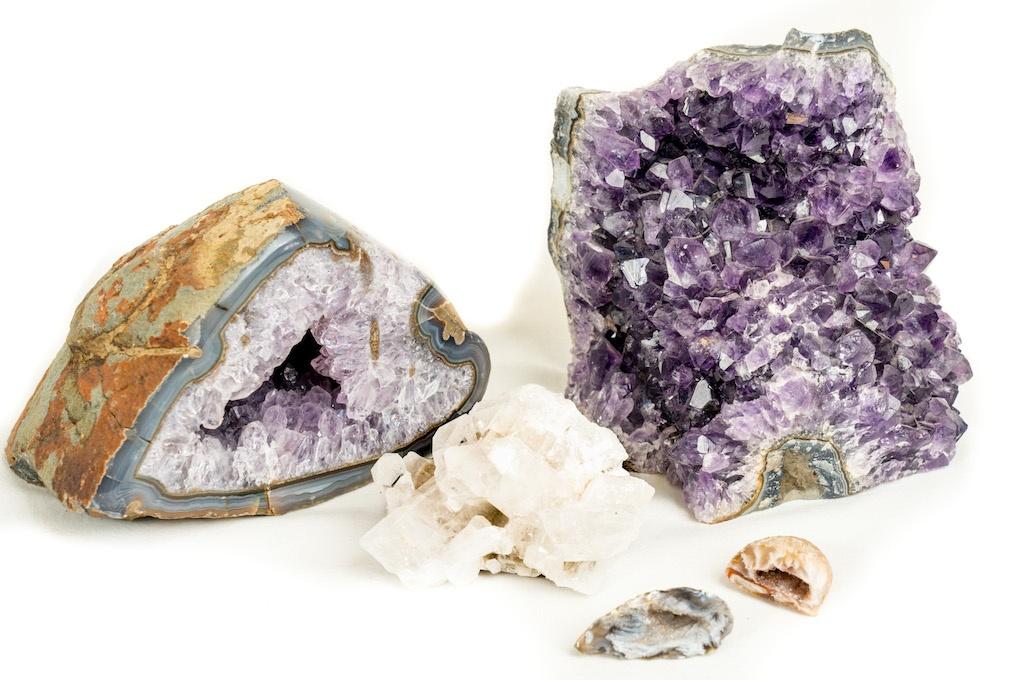 SEWA: Mineralien - Drusen