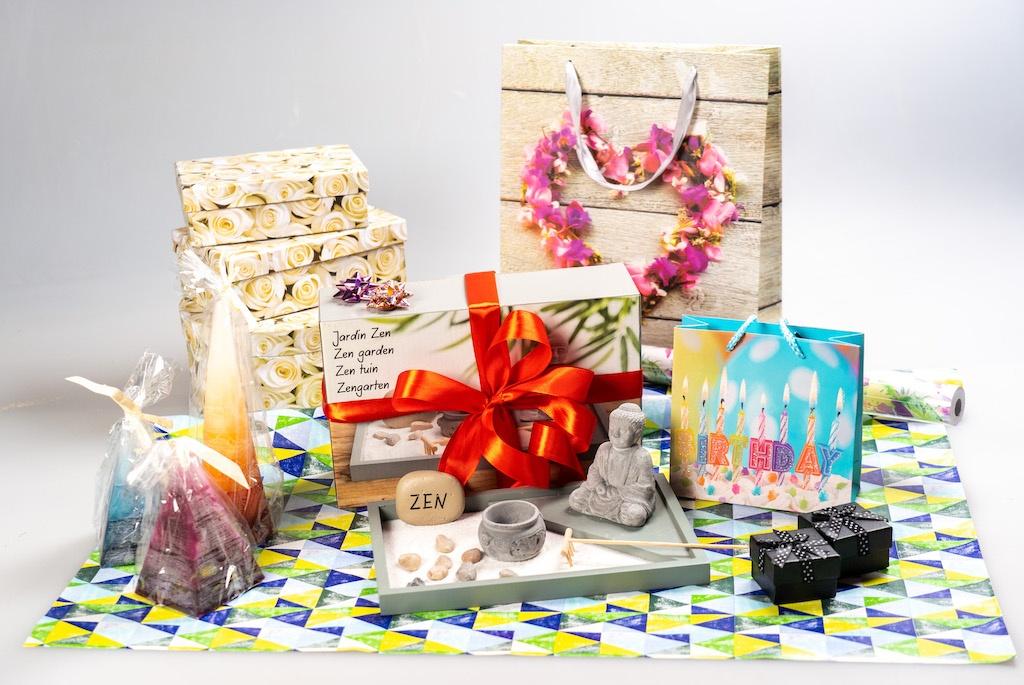 SEWA: Feiern & Freude schenken - Geschenke