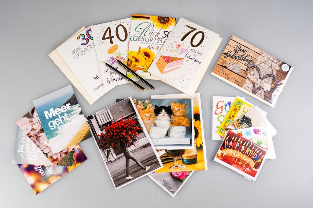 SEWA: Feiern & Freude schenken - Karten