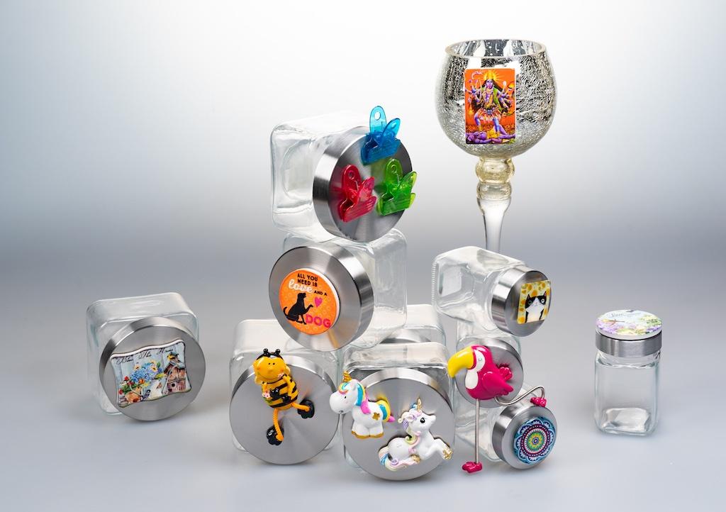 SEWA: Feiern & Freude schenken - Magnete