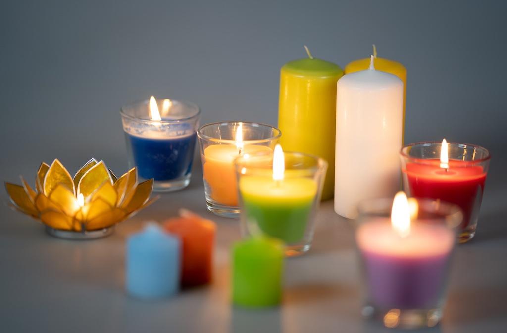 SEWA: Kraft tanken & Zuhause - Kerzen
